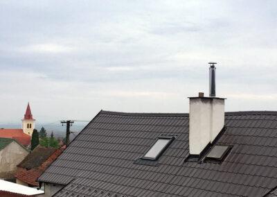 Vložkování stávajícího komína vč. nástavce